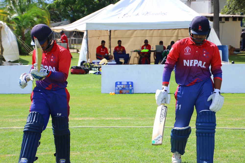 नेपाललाई पाचौँ झड्का, दीपेन्द्र ३२ रनमा आउट