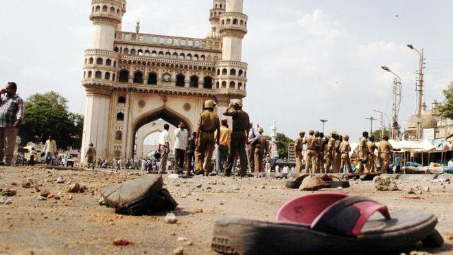 मक्का मस्जिद विष्फोटका अभियुक्तहरुलाई ११ वर्षपछि सफाई