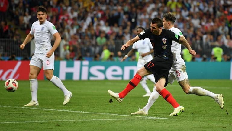इंग्ल्यान्डविरुद्ध क्रोएसिया २–१ गोलले अघि