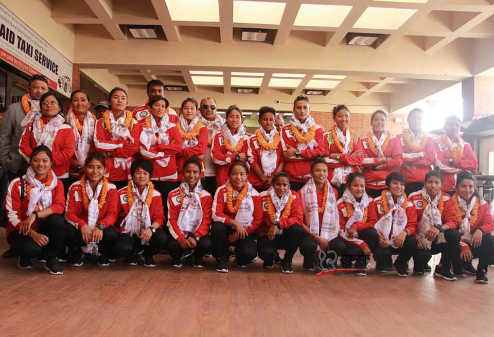 महिला खेलाडीलाई आकर्षक पुरस्कार दिन्छौं – एन्फा अध्यक्ष शेर्पा