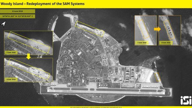दक्षिण चीन सागरमा फेरि चिनियाँ मिसाइल