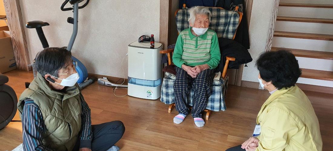 दक्षिण कोरियाकी ९६ वर्षीयालाई कोरोनाको सफल उपचार