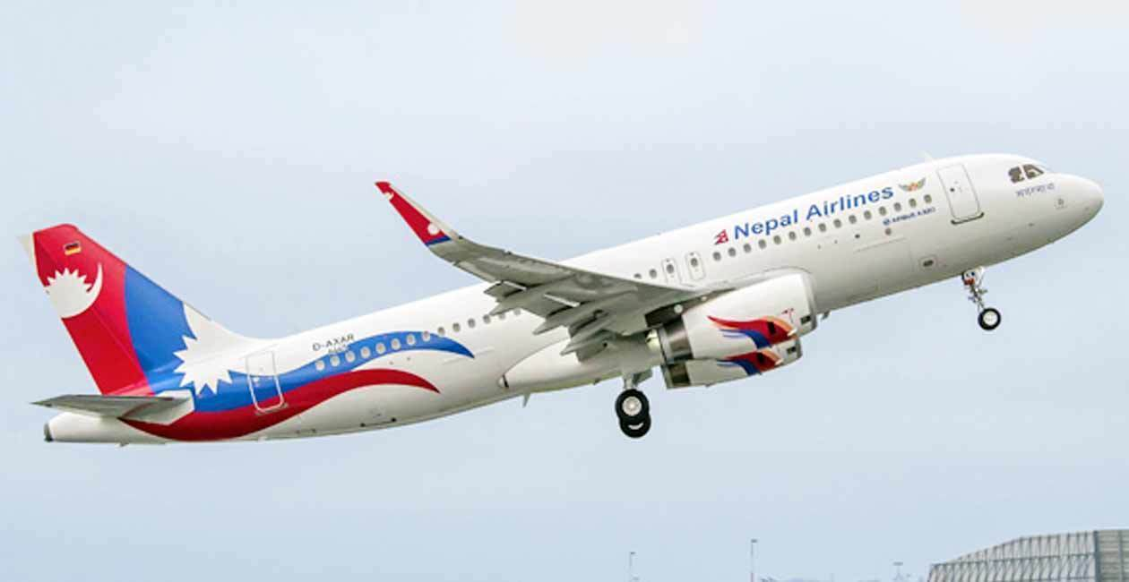 जापानको नारिता उड्यो नेपाल एयरलाइन्स