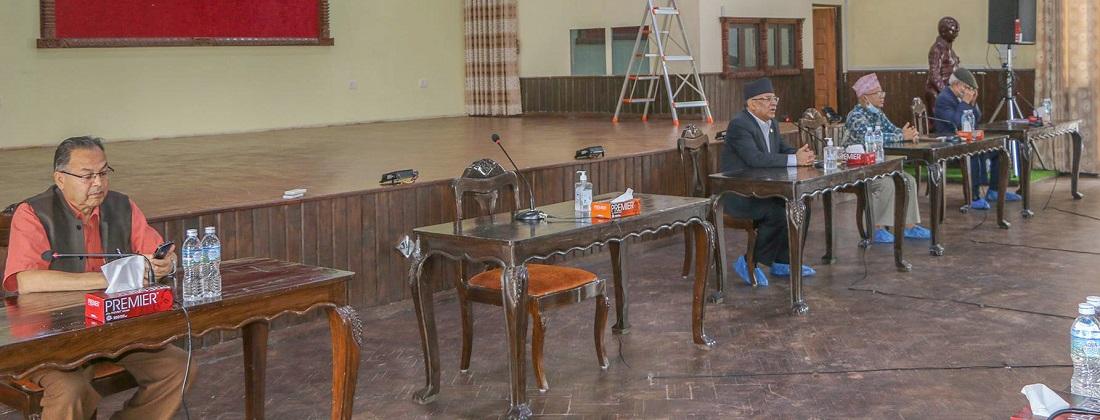 जब स्थायी कमिटीका बहुमत सदस्यको बैठकले घनश्यामको प्रस्ताव पास गर्यो