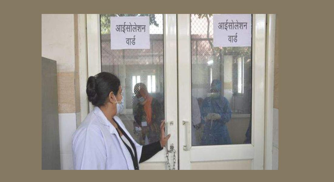 भारतमा कोरोना संक्रमितको संख्या १६ लाख ३८