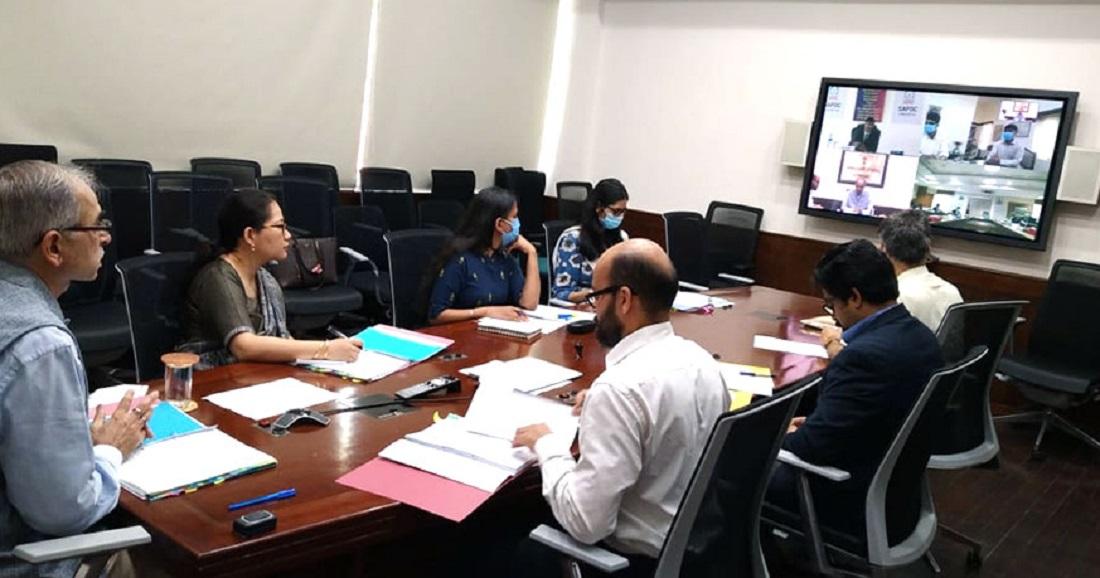 नेपाल-भारतबीच भिडियो वार्ता, भारतीय सहयोगमा बनेका विकास परियोजनाको समीक्षा