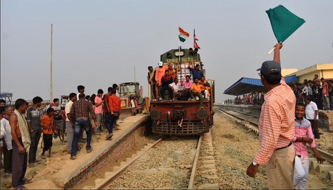 रेल जनकपुर त आयो, विराटनगर आइपुग्ने अझै छैन टुंगो