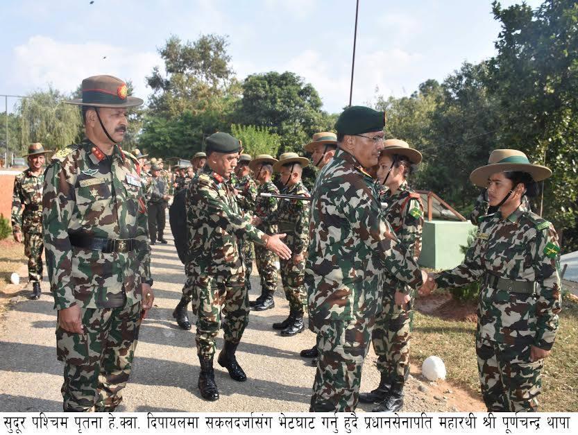 प्रधानसेनापति काठमाडौं फर्के