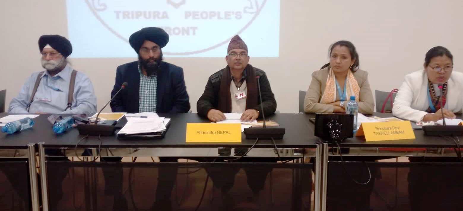 'नेपाली भूमि मिचियो' भन्दै जेनेभामा पत्रकार सम्मेलन, भर्त्सना गर्न अन्तर्राष्ट्रिय समुदायलाई आग्रह