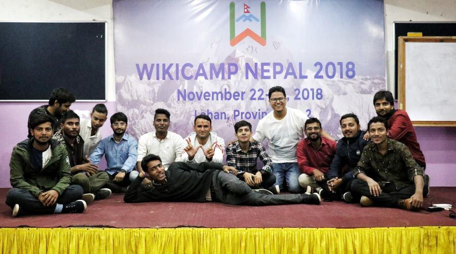 लहानमा तीन दिने 'विकीक्याम्प नेपाल २०१८'