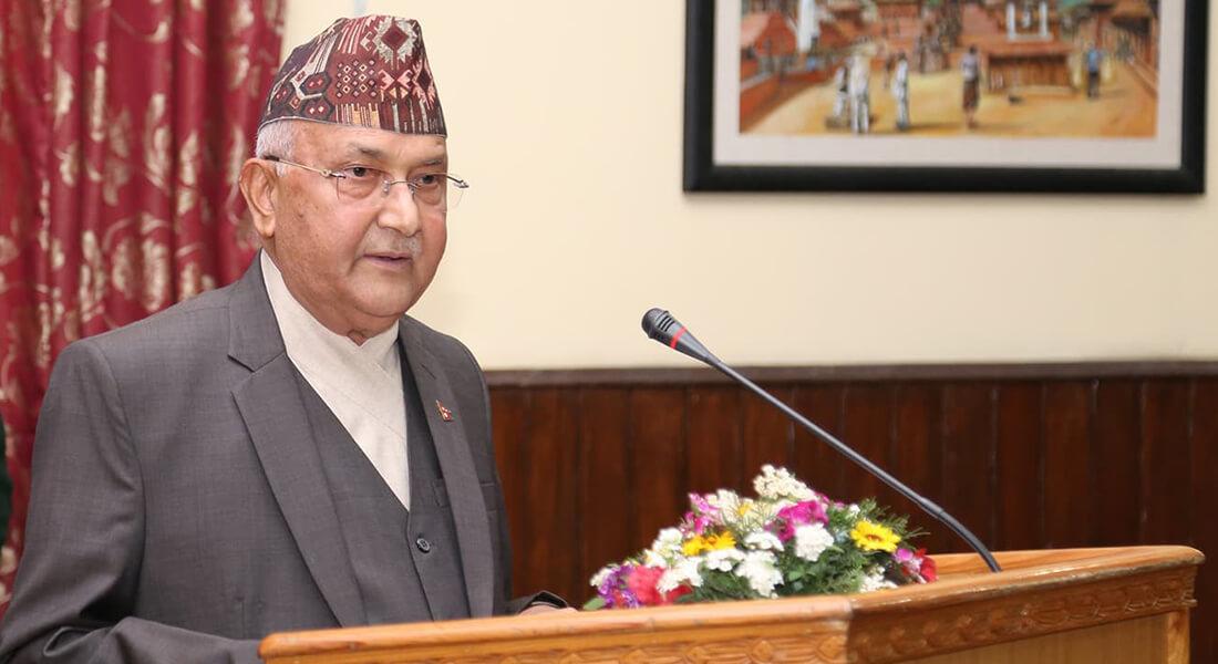 प्रधानमन्त्री ओलीका नेपाल समृद्धिको ६ सूत्र, बालुवाटारमा ब्रिफिङ