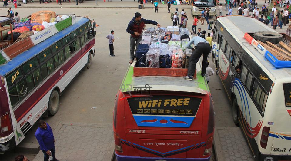 लामो रुटमा दुई चालक नियममै सीमित, व्यवसायी भन्छन्- नाइट बस चालक पाउनै गाह्रो