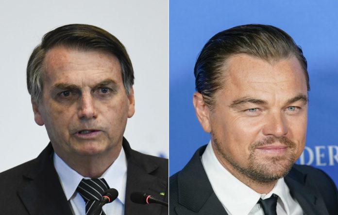 लियोनार्डो डिक्याप्रियोले खण्डन गरे ब्राजिलका राष्ट्रपतिको आरोप