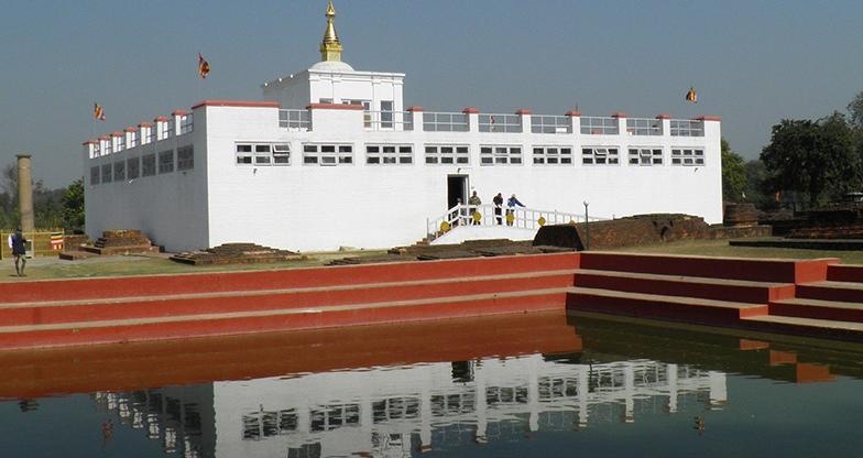 ७ देशका चित्रकार लुम्बिनीमा
