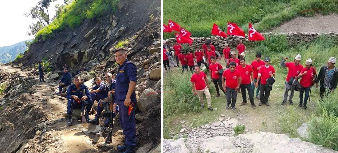 विप्लव समूहविरुद्ध प्रहरीको 'सर्च एन्ड एरेस्ट अपरेसन' ! नेता–कार्यकर्ताले गाउँ छाडे