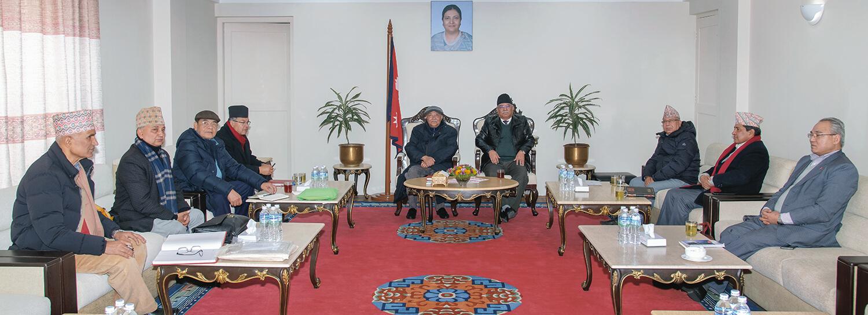 नेकपा सचिवालय बैठक जारी, राष्ट्रियसभा उम्मेदवार टुंगो लगाउने