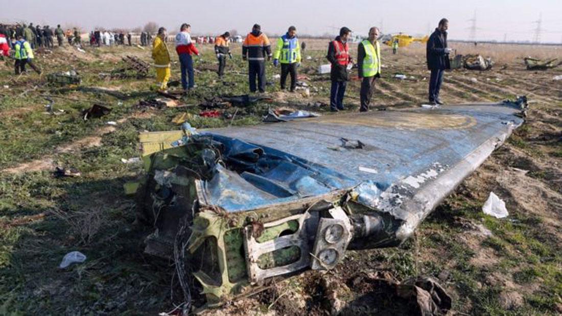 इरानद्वारा युक्रनी विमान दुर्घटनामा संलग्नलाई पक्राउ