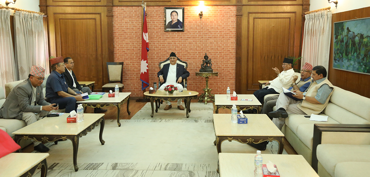 नेकपामा ७७ जिल्लाको इन्चार्ज र सहइन्चार्ज टुंगो लाग्यो