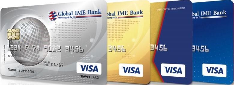 अब ग्लोबलको क्रेडिट कार्ड अनलाइनमार्फत